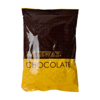 BAKEWAY WHITE CHOCOLATE COUVERTURE DROPLETS 1KG