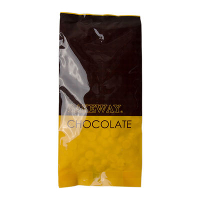 BAKEWAY WHITE CHOCOLATE COUVERTURE DROPLETS 250G
