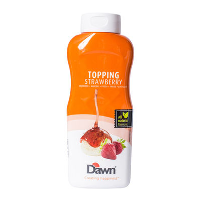 DAWN STRAWBERRY TOPPING SAUCE 1KG