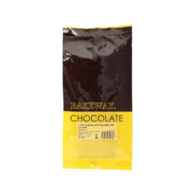 BAKEWAY DARK CHOCOLATE COUVERTURE CHUNKS 250G