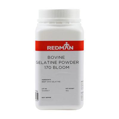 REDMAN GELATINE POWDER BOVINE 170 BLOOM 1KG