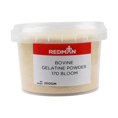 REDMAN GELATINE PWD BOVINE 170 BLOOM 200G