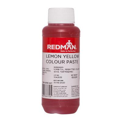 REDMAN LEMON YELLOW COLOUR PASTE 150G