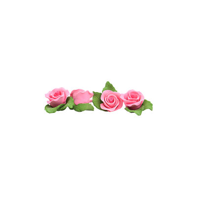 REDMAN GUMPASTE FLOWER- PINK MKKD 28PCS 4X4CM