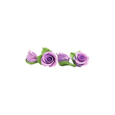 REDMAN GUMPASTE FLOWER- PURPLE MKKD 28PCS 4X4CM