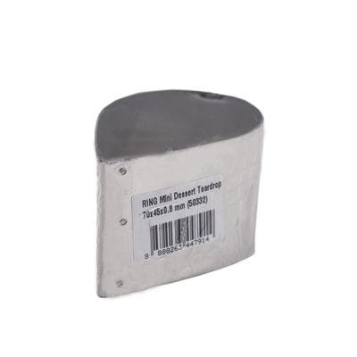 REDMAN CAKE RING MINI TEARDROP 70X45X0.8MM