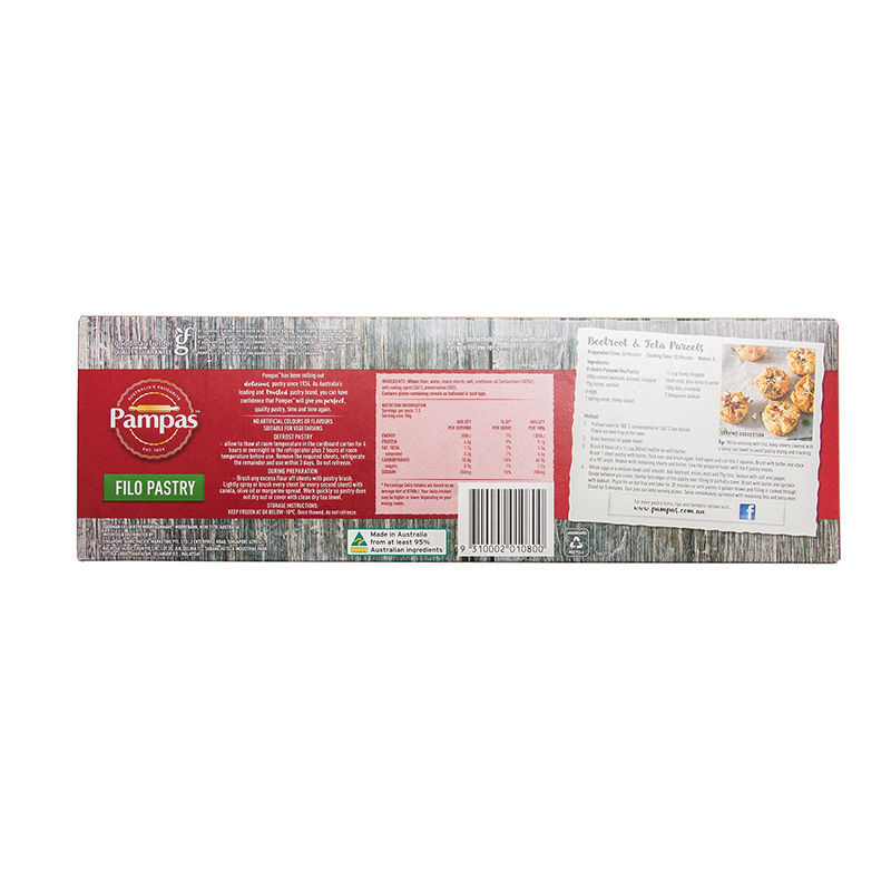 PAMPAS PASTRY FILO SHEET 375G image number 1