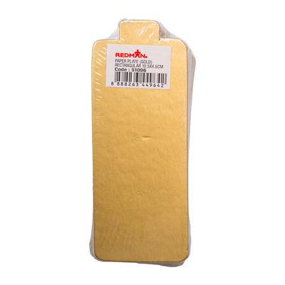 REDMAN PAPER PLATE (GD MT) 10.5X4.4CM