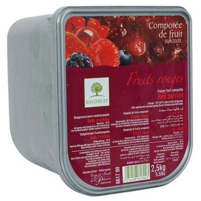 RAVIFRUIT FROZEN RED FRUITT COMPOTEE 8617