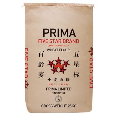 PRIMA FIVE STAR  ALL PURPOSE WHEAT FLOUR 25KG