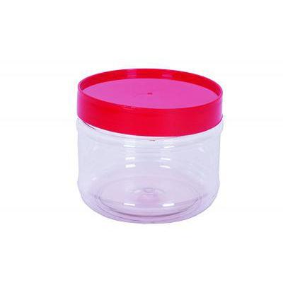 NCI ROUND PET BOTTLE RED CAP 800ML 4022
