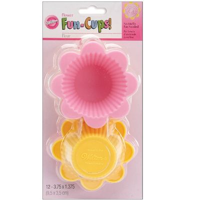 WILTON SILICONE BAKING CUP FLOWER