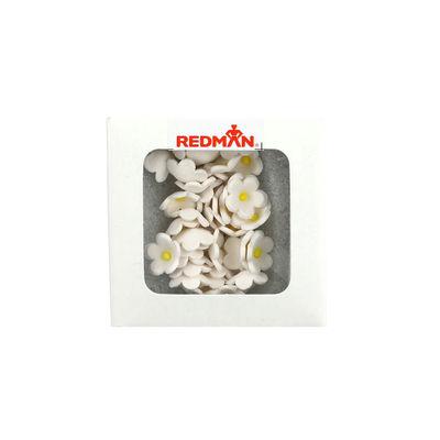 REDMAN DAISY BUTTON WHITE 12G (APPROX. 100PC) 1X1CM