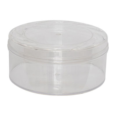 FUFONG CLEAR ROUND PS CONTAINER W115XH68MM FF3000