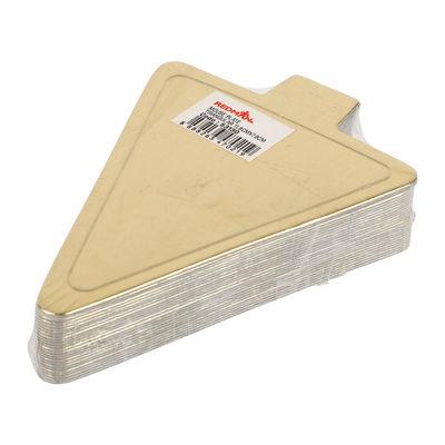 REDMAN TRIANGLE GOLD GLOSS PAPER PLATE 11.8X7.8CM 25PC