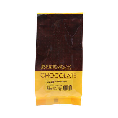 BAKEWAY WHITE COCOA COMPOUND BUTTONS 250G