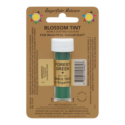 SUGARFLAIR TINT COLOR DUSTING POWDER -FOREST GREEN 7ML D125