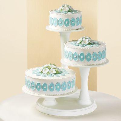 WILTON 3-TIER PILLAR CAKE STAND 307-350
