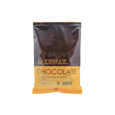 BAKEWAY WHITE COCOA COMPOUND DROPLETS 1KG