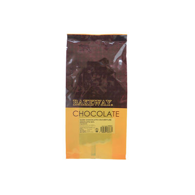 BAKEWAY DARK CHOCOLATE COUVERTURE DROPLETS 54% 250G