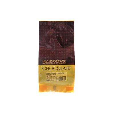 BAKEWAY DARK CHOCOLATE COMPOUND DROPS 250G