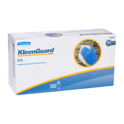"KLEENGARD NITRILE GLOVE G10 ARC BLUE LARGE 9"" 200PC"