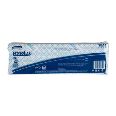 WYPALL WIPER WYPALL BLUE 7565 25SHT