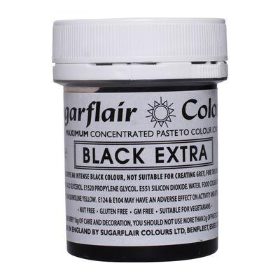 SUGARFLAIR MAX CONCENTRATE COLOR PASTE-BLACK EXTRA C102 42G