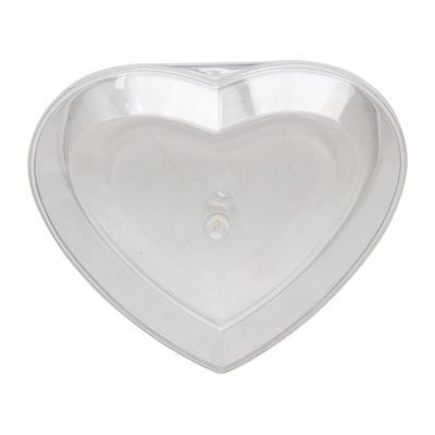 FUFONG CLEAR HEART PS CONTAINER 85X75XH56MM FF2814