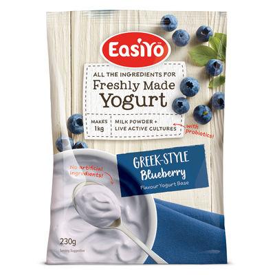 EASIYO GREEK BLUEBERRIES YOGHURT POWDER 230G