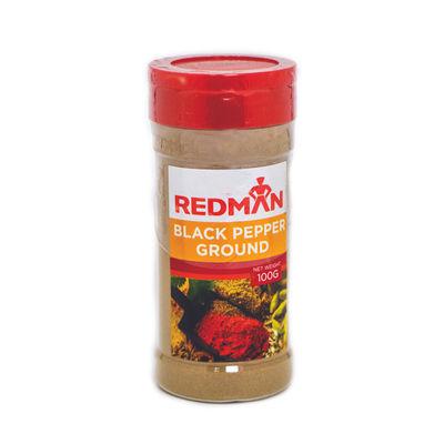 REDMAN GROUND BLACK PEPPER 100G