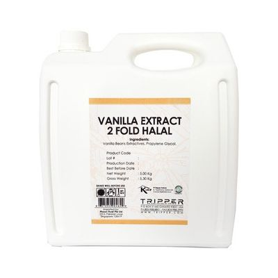 REDMAN VANILLA EXTRACT 2-FOLD (HALAL) 5KG