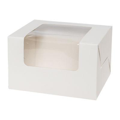"REDMAN CAKE BOX WINDOW LONG 5"" 130X110X80 5PCS"