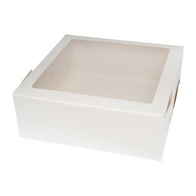 "REDMAN CAKE BOX WINDOW SQUARE 11"" 280X280X100 2PCS"