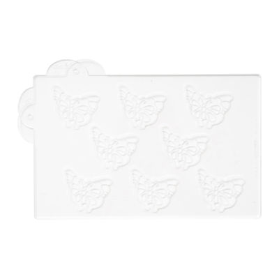 MARTELLATO CHOCOLATE FUNNY BUTTERFLY MOULD 56X45MM 8PCS