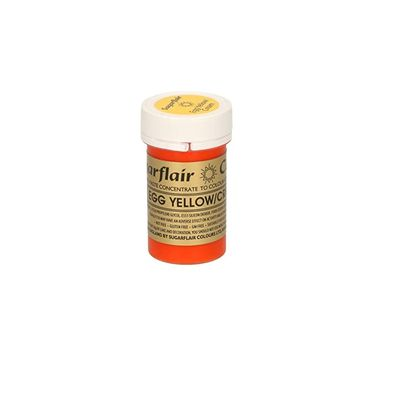 SUGARFLAIR COLOR CONCENTRATED PASTE-EGG YLW A103