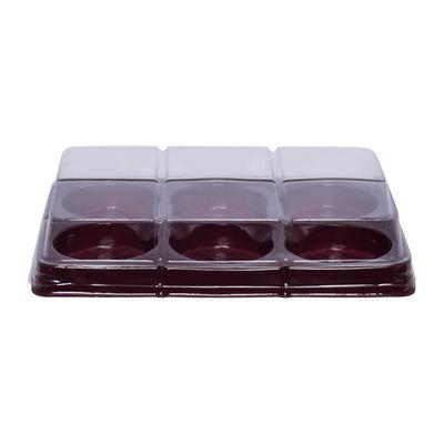 FOOD TRAY PVC W/COVER LPM-61 5PCS