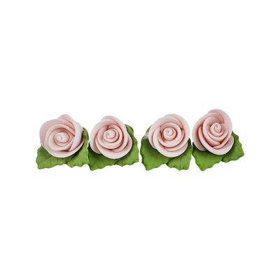 GUMPASTE FLOWER- ROSE PINK 2.5X2.5CM