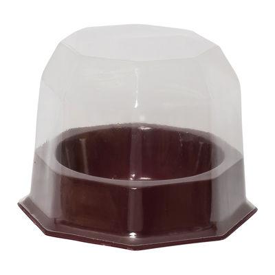 REDMAN CUPCAKE HEXAGON TAKEAWAY PLASTIC 95X95X75 10SET