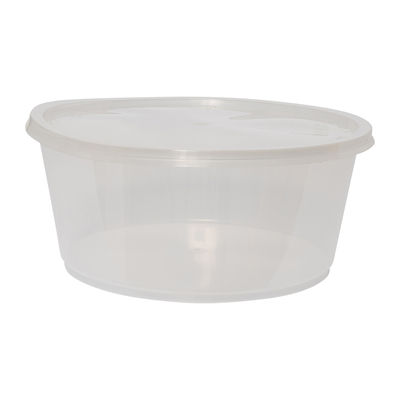 ROUND CONTAINER WITH LID 3000ML 5SET