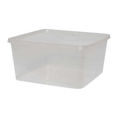 SQUARE CONTAINER WITH LID 3130ML 5SET