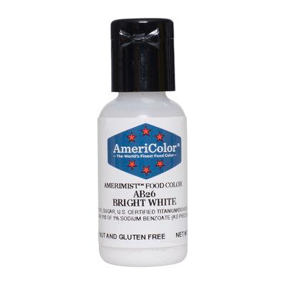 AMERICOLOR AIRBRUSH COLOR BRIGHT WHITE SHEEN 0.65OZ