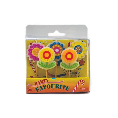 REDMAN CANDLE TOOTHPICK-FLOWER 5PCS