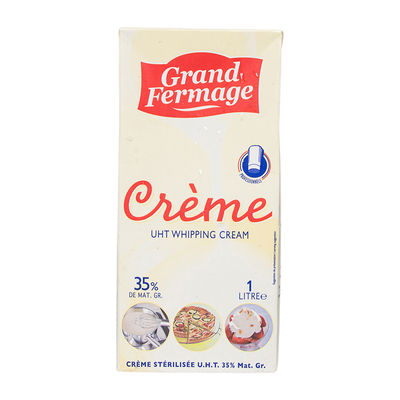GRAND FERMAGE UHT WHIPPING CREAM DAIRY 35% 1L