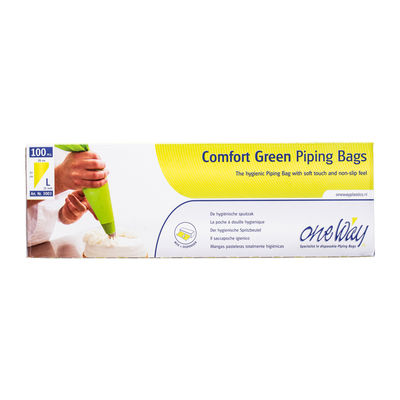 """ONEWAY DISPOSABLE PIPING BAG GREEN COLOR 21"""""""