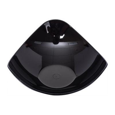 SKC BLACK TRIANGULAR SAUCE DISH 40ML