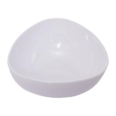 SKC WHITE TRIANGULAR SAUCE DISH 50ML