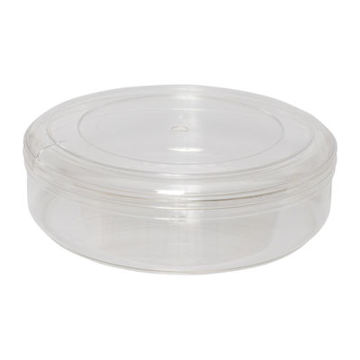 FUFONG CLEAR ROUND PS CONTAINER W152XH48MM FF2813