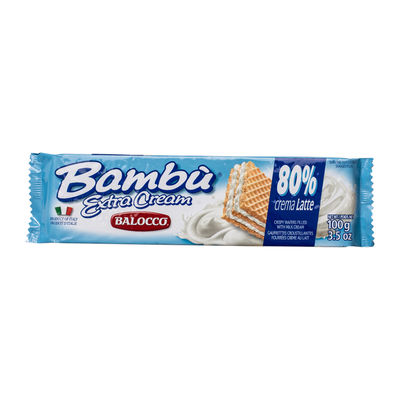 BALOCCO EXTRA CREAM MILK WAFER 100G