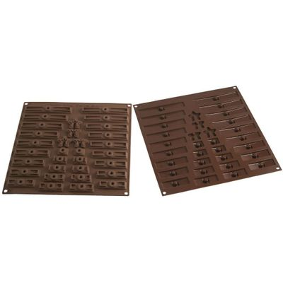 SILIKOMART EASY CHOCOLATE SILICON MOULD 3D